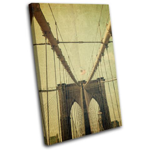 Brooklyn Bridge USA Vintage - 13-0449(00B)-SG32-PO